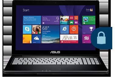 Blue Label laptops, security software