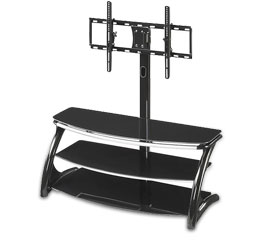 TV Stand with Flat-Panel Mounts