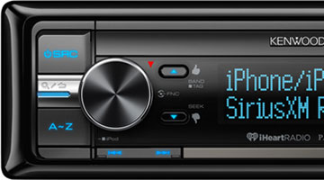 Car stereo receiver