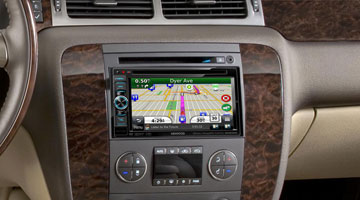 In-dash receiver, car console