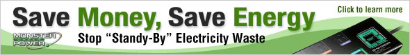 Save Money, Save Energy. Stop &#34; Standy-By&#34; Electricty Waste. Click to learn more.