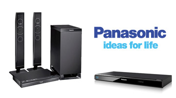 Blu-ray player and home theater speakers