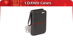 Targus CD/DVD cases