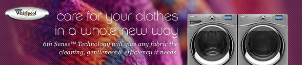 Care for your clothes in a whole new way. 6th Sense™ Technology will give any fabric the cleaning, gentleness & efficiency it needs.