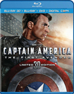 Captain America: The First Avenger - Blu-ray 3D