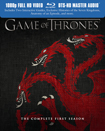 4566422 Game of Thrones: The Complete First Season Blu ray Review