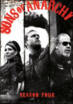 Sons of Anarchy: Season 4 [4 Discs] - Widescreen Box AC3 Dolby - DVD