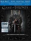 Game of Thrones: The Complete First Season [7 Discs] [Includes Digital Copy] [Blu-ray. DVD] - Blu-ray Disc