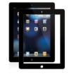 Moshi - iVisor AG for the New iPad - Black/Clear