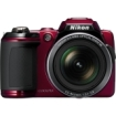 Nikon Coolpix L120 14.1 Megapixel Compact Camera - Red