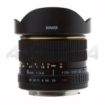 Bower - SLY358C 8 mm f/35 Fisheye Lens for Canon EF/EF-S
