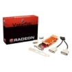 Visiontek - Radeon 5450 Graphic Card - 550 MHz Core - 512 MB DDR3 SDRAM - PCI Express x16