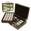 Trademark Global - Trademark Poker 500 Chips 4 Aces Chips in Deluxe Case