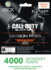 4000 Microsoft Points - Call of Duty Black Ops II Season Pass - Xbox LIVE Points [Digital Download]