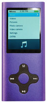 Eclipse - 4GB Video MP3 Player - Purple