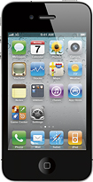 Apple - iPhone 4 with 16GB Memory - Black (AT&amp;T)