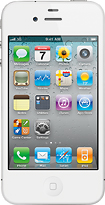 Apple - iPhone 4 with 16GB Memory - White (AT&T)