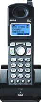 RCA - DECT 60 Digital Cordless Expansion Handset for Select RCA Phone Systems