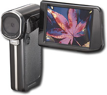 Insignia Refurbished High-Definition Digital Camcorder with 3 inch LCD Screen - Black