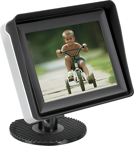 Audiovox - 3.5 TFT-LCD Rear Observation Monitor - Black