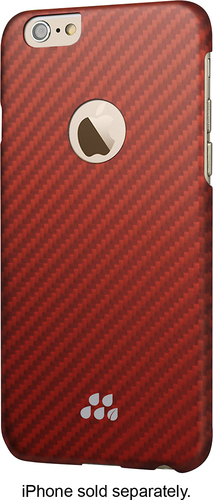 Evutec - S Series Lorica Case for Apple® iPhone® 6 and 6s - Red/Orange