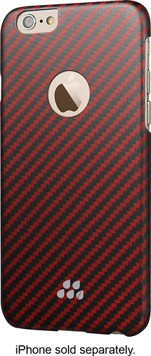Evutec - S Series Kozane Case for Apple® iPhone® 6 and 6s - Black/Red