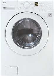 LG - 4.0 Cu. Ft. 7-Cycle High-Efficiency Washer - White