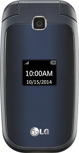 T-Mobile Prepaid - LG 450 No-Contract Cell Phone - Indigo Black
