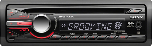 Sony - 52W x 4 In-Dash CD Deck