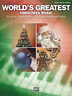Alfred - World's Greatest Christmas Music Piano Book