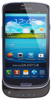 Lenmar - Pulsar Battery Case for Samsung Galaxy S III Mobile Phones - Glossy Black