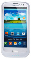 Lenmar - Halo Battery Case for Samsung Galaxy S III Mobile Phones - Glossy White
