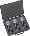 Buy Microphones  - Samson Vocal Microphone (3-Pack) - Black/Silver