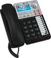 AT&T - Corded Speakerphone with Digital Answering System