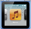Apple iPod nano 16GB MP3 Player (6th Generation - Latest Model) - Blue