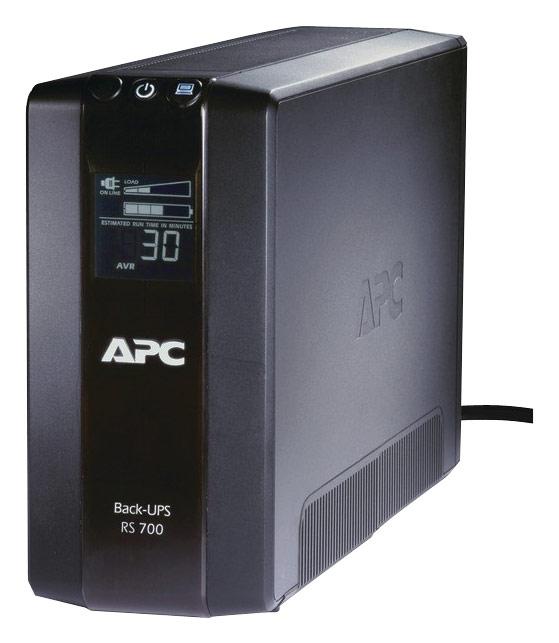 APC - Back-UPS RS 700 VA Tower UPS - Black