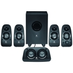 Logitech - Z506 51 Surround Sound Speakers (6-Piece) - Black