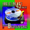 Hard to Find 45's on CD, Vol. 8: 70's Pop. - Various - CD