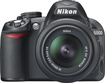 Nikon - D3100 Digital SLR Camera with 18-55mm VR Lens - Black