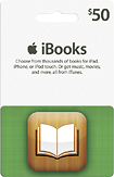 Apple $50 iTunes and iBookstore Gift Card