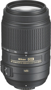 Nikon - AF-S DX Nikkor 55-300mm f/45-56 VR Zoom Lens for Nikon SLR Cameras