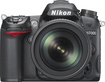 Nikon - D7000 162-Megapixel DSLR Camera Kit with 18-105mm Lens - Black