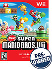 New Super Mario Bros Wii - PRE-OWNED - Nintendo Wii