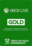 Microsoft Xbox Live 12-Month Gold Membership Card