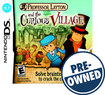 Professor Layton and the Curious Village - PRE-OWNED - Nintendo DS