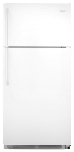 Frigidaire - 18.0 Cu. Ft. Top-Freezer Refrigerator - White
