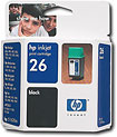 HP - 26 Inkjet Cartridge - Black