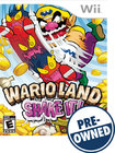 Wario Land: Shake It - PRE-OWNED - Nintendo Wii