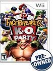 FaceBreaker KO Party - PRE-OWNED - Nintendo Wii