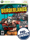 Borderlands Zombie Island of Dr Ned/Mad Moxxi's Underdome Riot - PRE-OWNED - Xbox 360